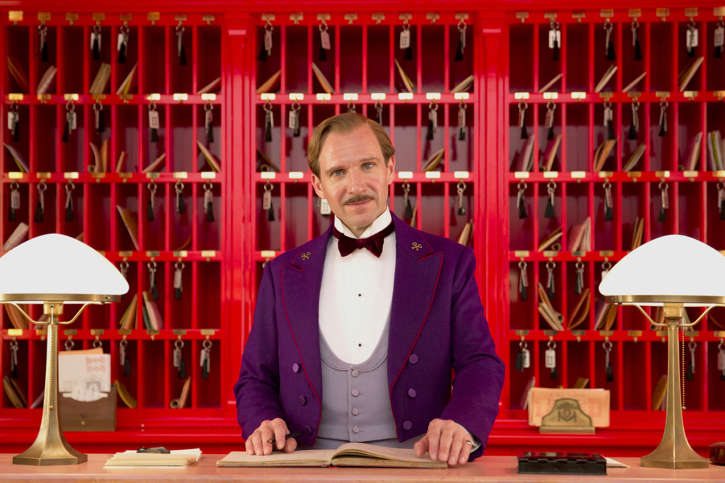 Ralph Fiennes - The grand budapest hotel